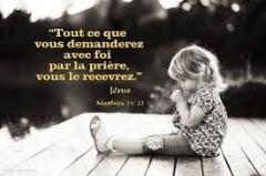 prière de foi