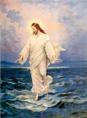 miracle,marcher sur l'eau